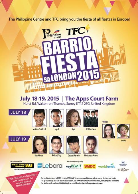31th Barrio Fiesta sa London