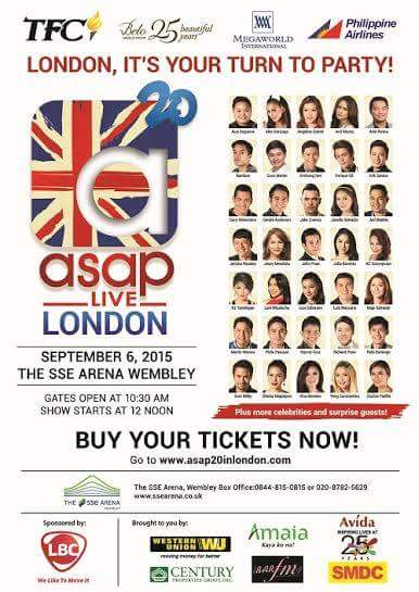 ASAP 20 Live in London