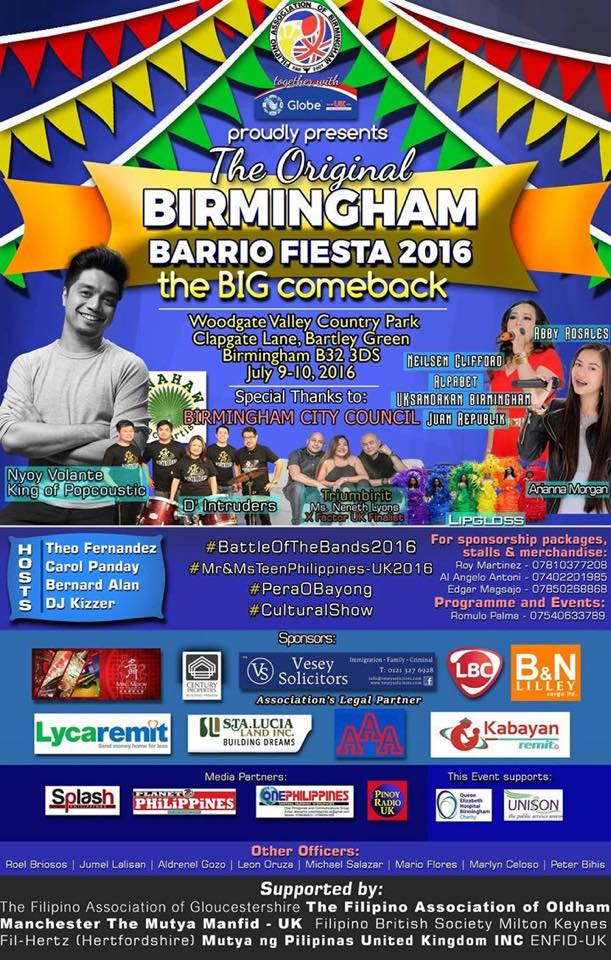 Birmingham Barrio Fiesta 2016 (july 9 & 10)