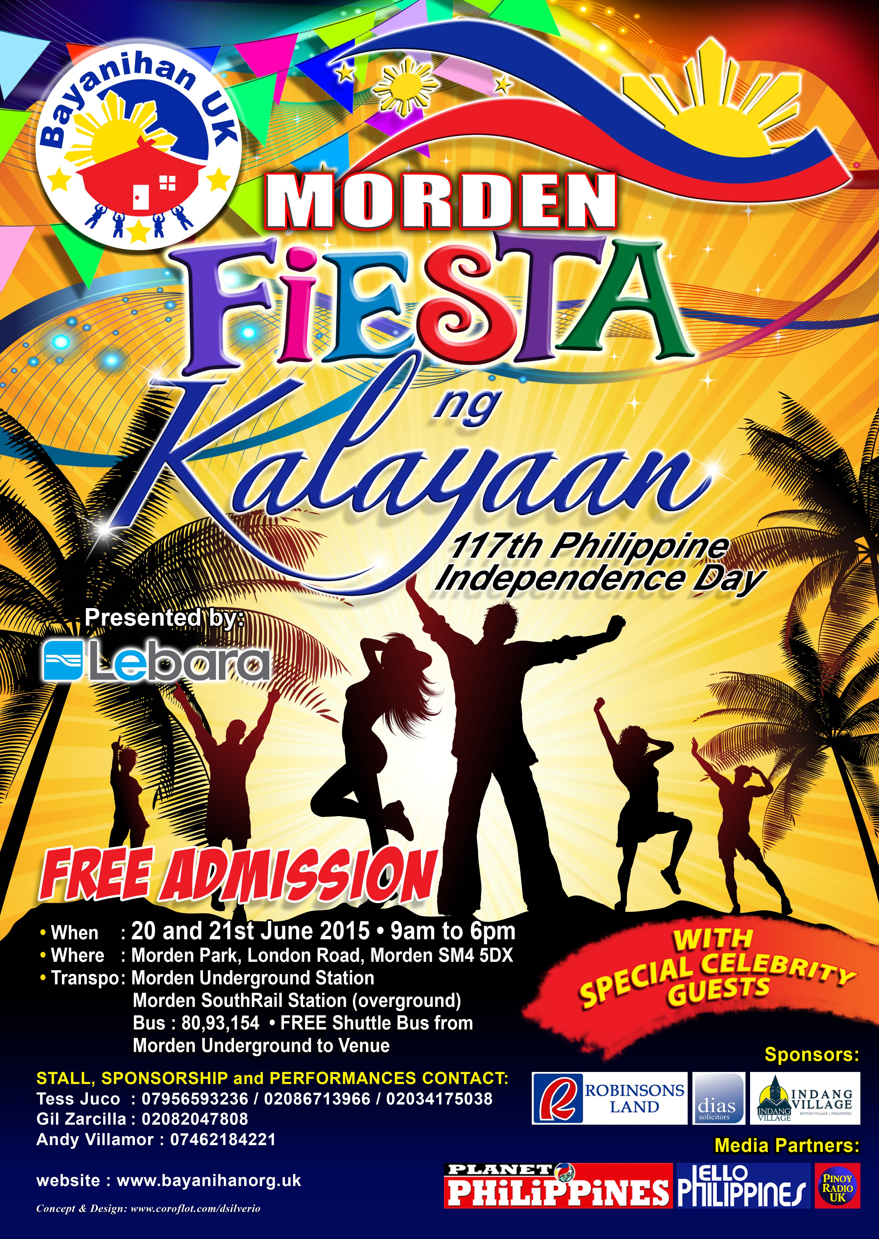 Morden Fiesta ng Kalayaan - 117th Philippine Independence ...